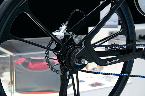 Электровелосипед Ford E-Bike