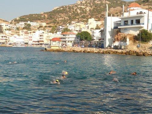 Велосипедный туризм на острове Карпасос, Греция