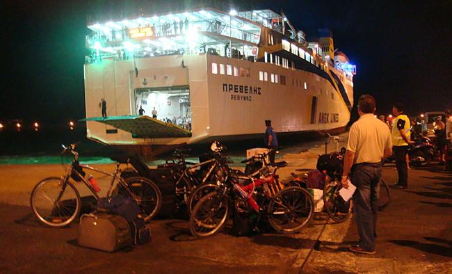 Велосипедные туры Kарпатос