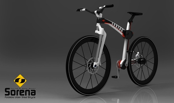 складной велосипед Mahdi Momeni