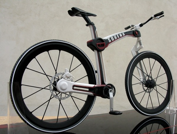 раскладной велосипед Mahdi Momeni