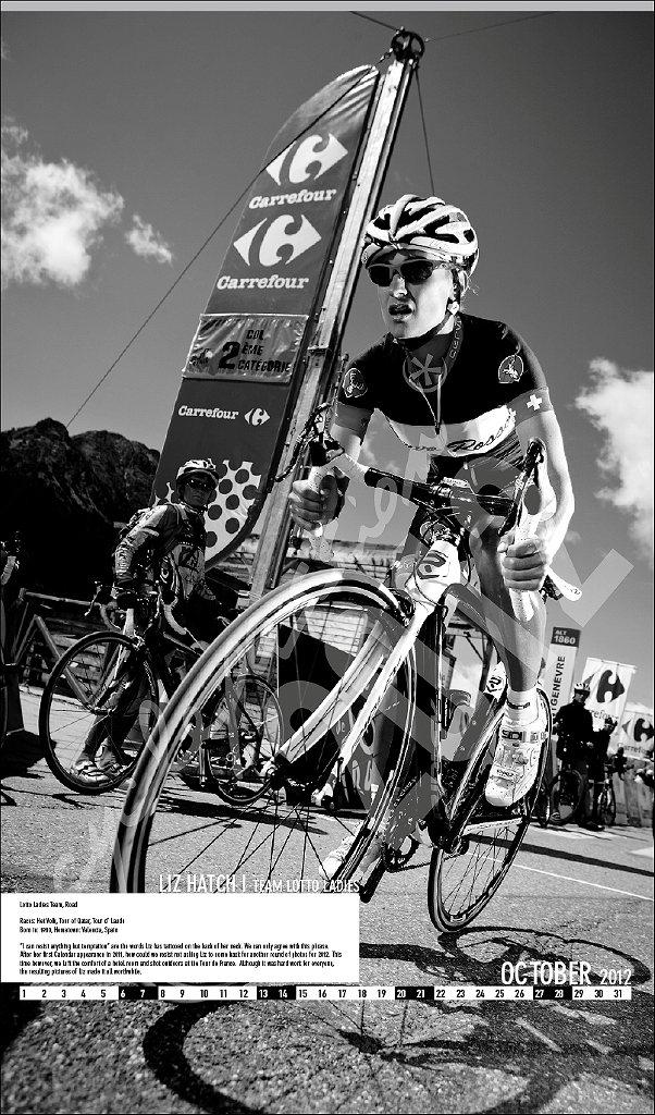 Велосипедный календарь Cyclepassion  2012 October Ruteck Wasser