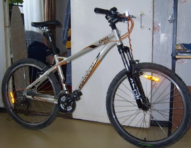 Велосипед форвард 1340 вид спереди