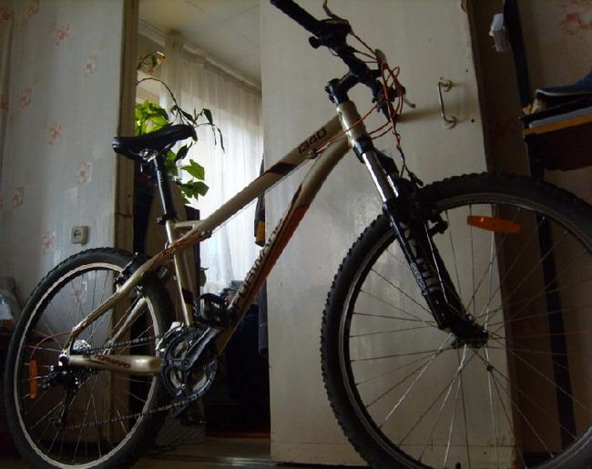 Велосипед форвард 1340 вид снизу