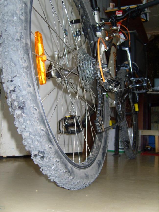 Велосипед форвард 1340 вид сзади
