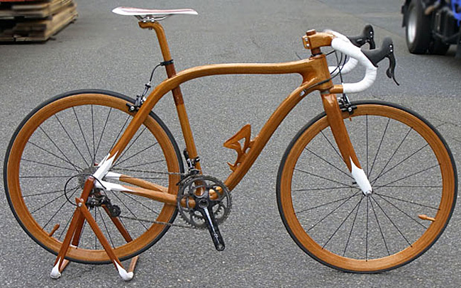 деревянный велосипед sano