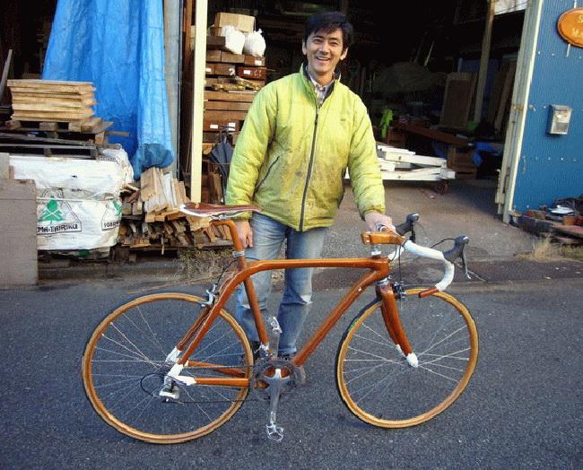 Yapona-mamma или деревянный велосипед Суеширо Сано