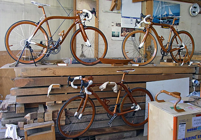 деревянный велосипед Суеширо Сано