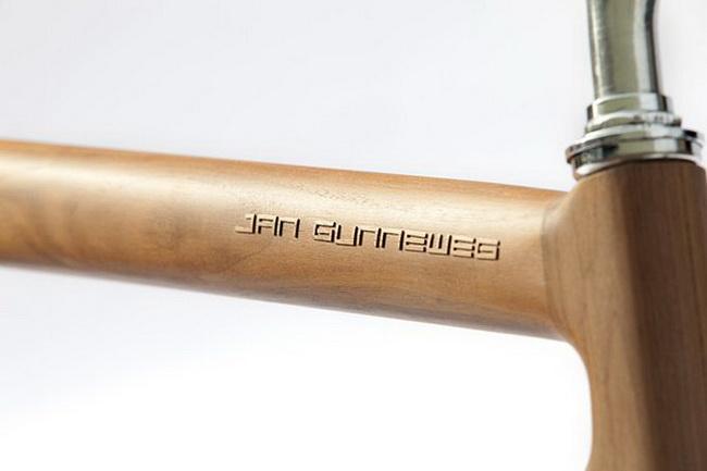 Еще деревянный велосипед