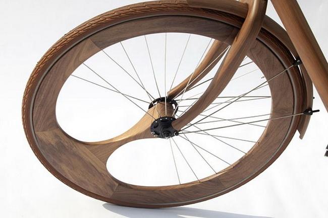 деревянный велосипед  Яна Ганневега