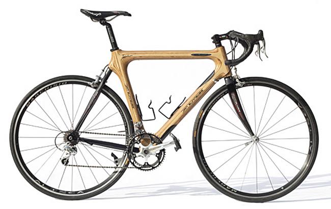 шоссейный велосипед из дерева