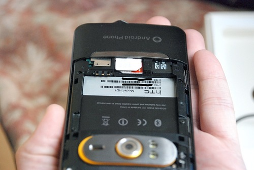 Телефон велосипедиста HTC HD7+ PRO