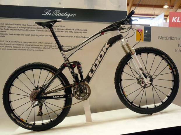 2012 велосипед Look 920 полный подвес, карбон