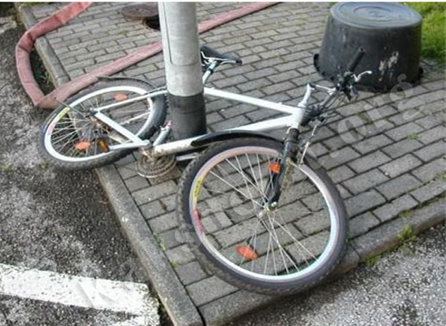 велосипедный замок нового поколения