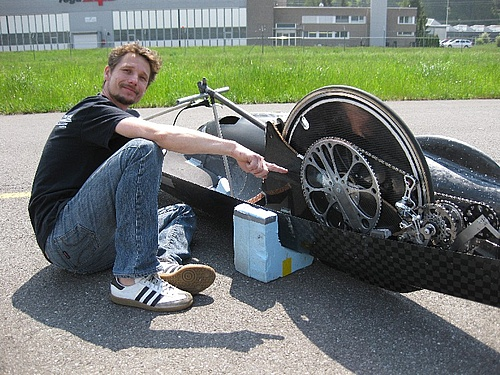 велодипед для рекордов
