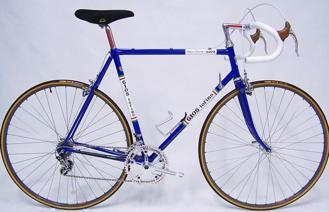 Велосипед Gios Torino с навеской Campagnolo Super Record 1979