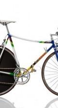 винтажный велосипед шоссер