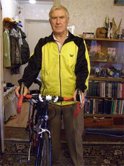 Винницкий велосипедист