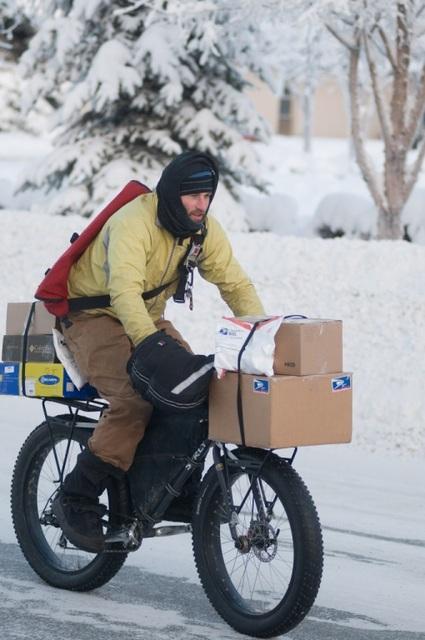 Суровые Канадские велосипедисты