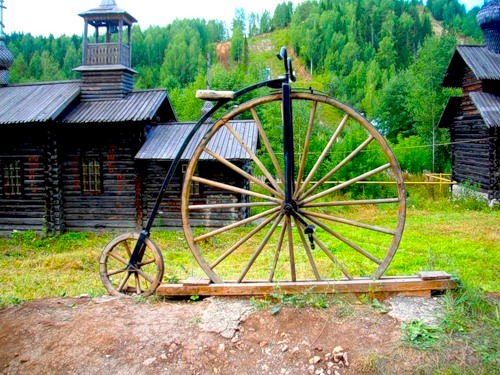 Первый русский велосипед