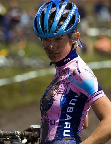 девушка велосипедистка