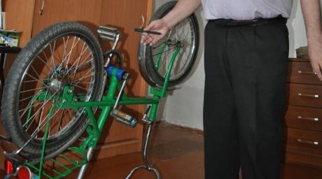 Вечный велосипед из Казахстана