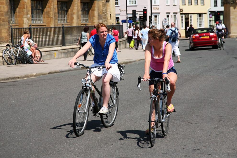 велосипеды в Англии