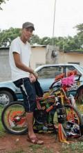 навеска на велосипед