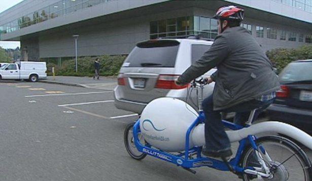 Спермо велосипед №1. Сиэтл