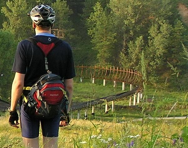 велосипедный рюкзачок