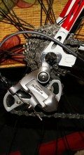 велосипед Orbea Aqua TSR задняя перекидка