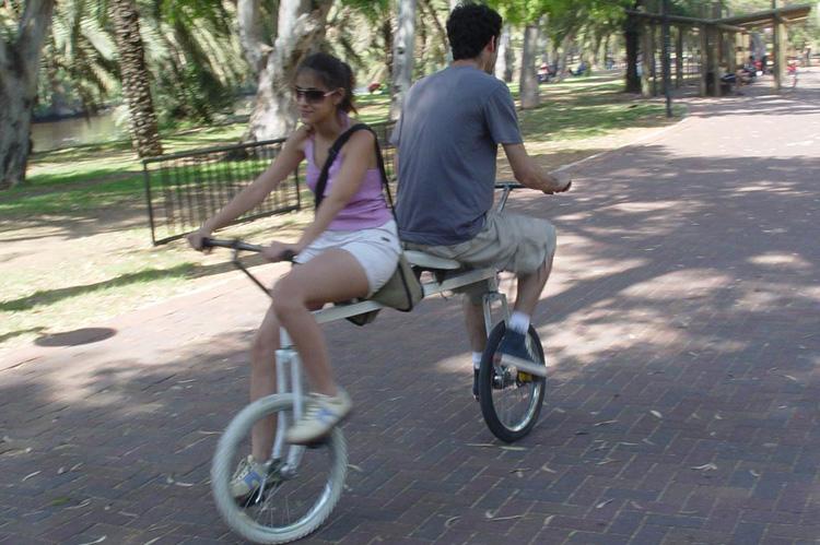 велосипедная пара