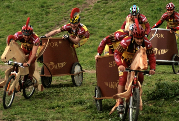 велоколесницы Италии