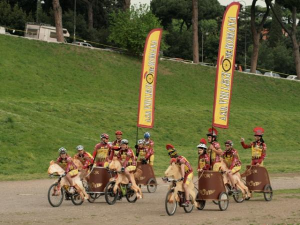 велоколесницы Рима
