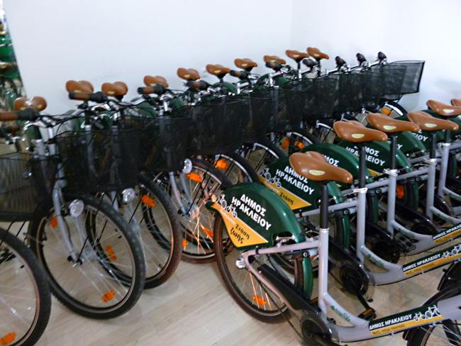 Ираклион велосипедный