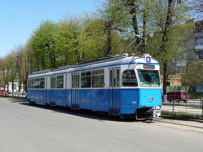 Виннца, трамвай