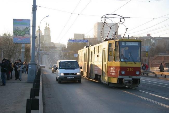 Украина, Винница, мост через речку Южный Буг