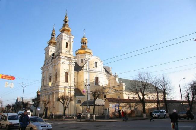 Винница, православная церковь какой-то там епархии