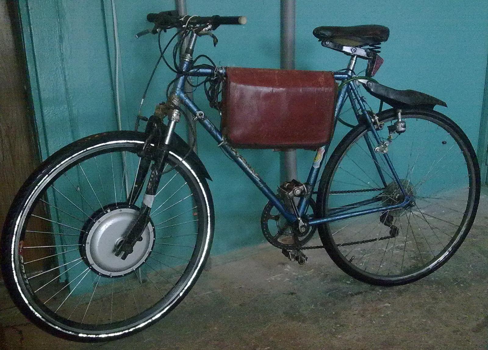 мой електровелосипед