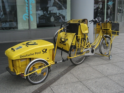 почтовый велосипед