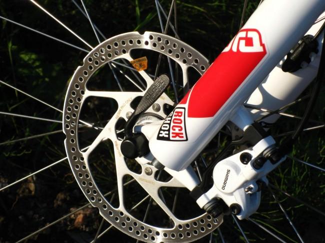 велосипед Cube ltd  тормозной диск