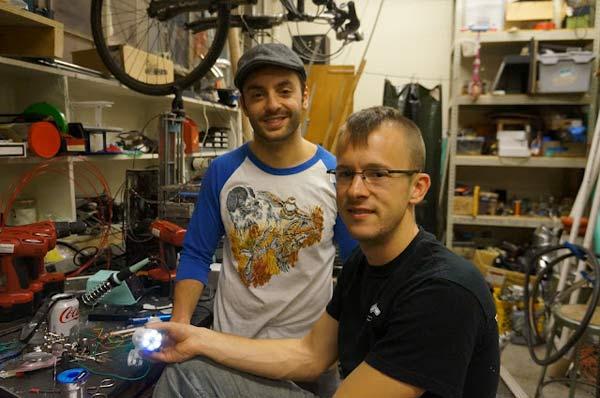 группа велосипедистов Gotham Bike