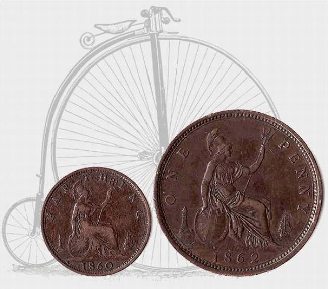 велосипед паучек, костотряс, пенни-фартинг