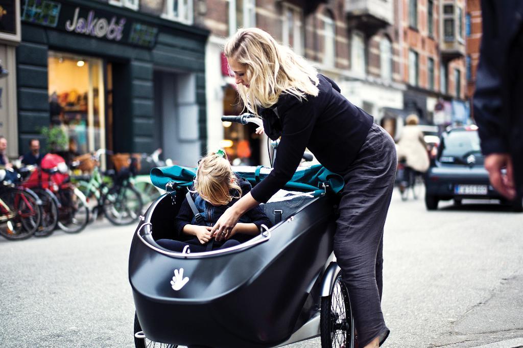 Велосипедная коляска