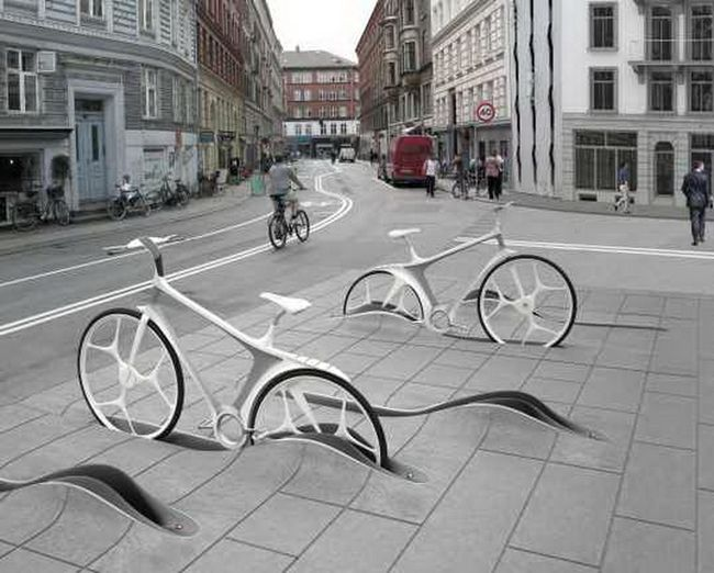 Копенгаген. Велосипедный