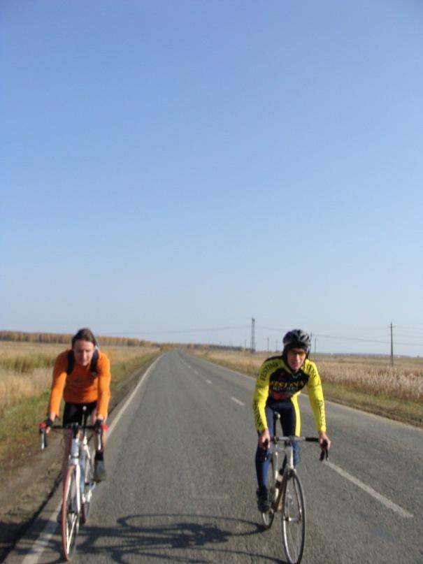 Челябинск, велосипедисты, шоссеры