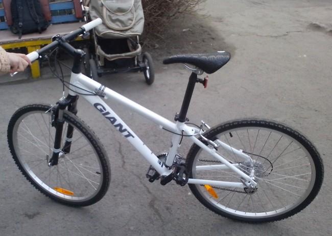 купил велосипед Giant Snap 24 XS
