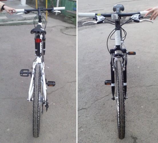 велосипед Giant Snap 24 XS вид сзади