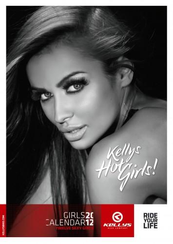 Велосипедный календарь Kelly's 2012 обложка
