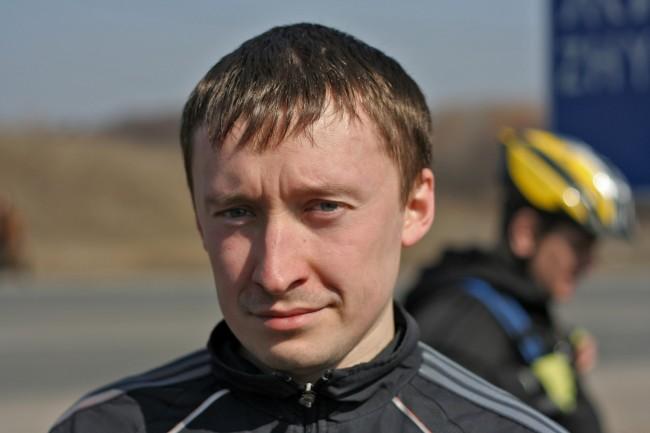 Велосипедист Виталий